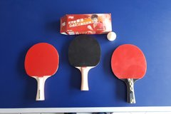Ping Pong paddles and Balls in Ramstein, Germany
