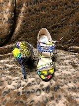 High Heels by Gretta Multicolored Size 5 in Cherry Point, North Carolina