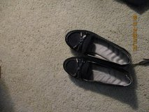 BLACK SHOES EXCELLENT CONDITION in Travis AFB, California