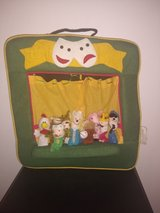 finger puppet show fabric toy in Ramstein, Germany