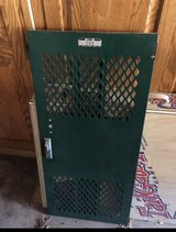 3 vintage locker doors - dark green in Westmont, Illinois
