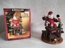 Kirkland signature Fabric Maché SANTA in Ramstein, Germany