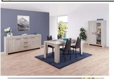 United Furniture - Giorgio Dining Set - China + Table + Chairs + Delivery in Ansbach, Germany