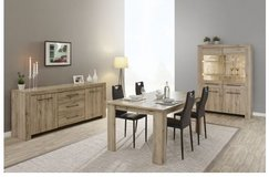 United Furniture - Elba Dining Set - China + Table + Chairs + Delivery in Grafenwoehr, GE