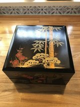Lacquer bento box in Okinawa, Japan