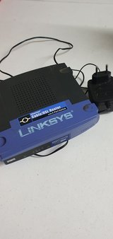 linksys router with 4 port switch in Ramstein, Germany
