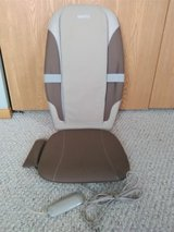 Homedics Dual Shiatsu Massage Cushion with Heat -Like New in Plainfield, Illinois