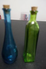 Colored Glass Bottles in Cherry Point, North Carolina