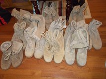 13 Pair of Vibram Boots sizes 9.5, 10, 10.5 in Fort Campbell, Kentucky