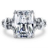 FINAL REDUCTION **7 CTTW Radiant Cut CZ Engagement Ring***SZ 9 in Cleveland, Texas