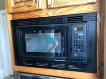 microwave and trim kit in Kingwood, Texas