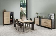 United Furniture - Milo Dining set - China - Table - Chairs - Delivery in Ansbach, Germany