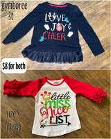 holiday tops ~ size 3/4 in Kingwood, Texas