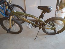 Kid's 20 inch Mongoose bike (green) in Naperville, Illinois