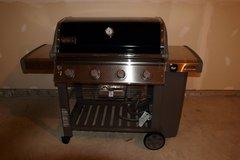 Weber Genesis II SE-410 Natural Gas Freestanding 4 burners Grill Black in Quantico, Virginia
