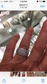 White Gold Ring in Kingwood, Texas