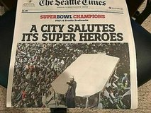 Seattle Times - Seattle Seahawks Win Super Bowl 48, PARADE ISSUE! Feb 6, 2014 in Tacoma, Washington