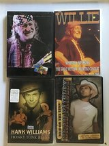 Country music dvds - Willie, Hank, and Brad, Georges in Kingwood, Texas
