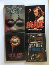 AC/DC and Guns N' Roses dvds in Kingwood, Texas
