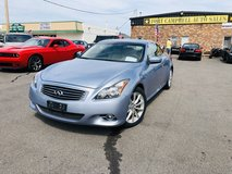 2011 INFINITI G37 CONVERTIBLE COUPE-HARDTOP V6 3.7 LITER in Fort Campbell, Kentucky
