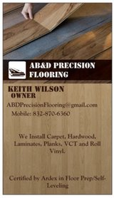 Professional Flooring Installation/Shower Updating in Kingwood, Texas