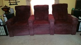 Home Movie Theater Seating for 3 in Alamogordo, New Mexico