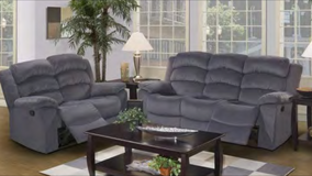 INVENTORY SALE! QUALITY COMFY SOFA GREY SOFA RECLINER in Camp Pendleton, California