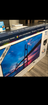 "BRAND NEW IN FACTORY SEALED BOX! VIZIO 70"" LED 4K ULTRA WITH WARRANTY! in Camp Pendleton, California"
