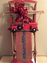 Decorative Yankee Clipper Sled in Westmont, Illinois