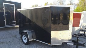 5' x 10' Enclosed Trailer - V - Ramp in Fort Campbell, Kentucky
