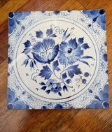 TILE Dutch Delft floral in 29 Palms, California
