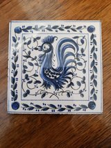 Tile Portugal Rooster in 29 Palms, California