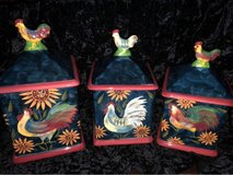 Rooster Canisters (3) in Galveston, Texas