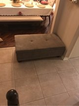 olive colored ottoman in Plainfield, Illinois