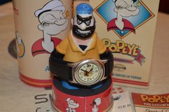 Fossil watch Popeye & Brutus limited 1994 in Stuttgart, GE