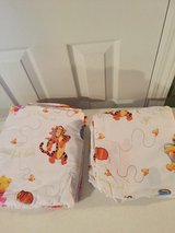 Winnie the Pooh Twin Sheet Set (flat & fitted) in Eglin AFB, Florida
