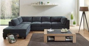 United Furniture - Household Pkg 1B - Sectional + Dining + Entertainment + Coffee Table + Delivery in Grafenwoehr, GE