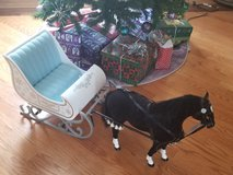 American girl/ OG Christmas carriage and horse set in Westmont, Illinois