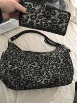 Authentic Coach Ocelot Handbag & Wallet in Camp Pendleton, California