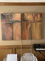 Canvas painting set in Kingwood, Texas