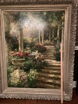 Very large framed painting in Kingwood, Texas