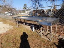 1 Stainless Steel Outdoor Table for Oyster Roasts/ Outdoor Cooking. in Sanford, North Carolina