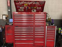Mac/Snap on tool boxes w/ tools in Joliet, Illinois