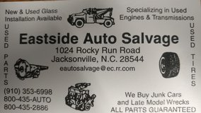NEED YOUR VEHICLE SOLD IMMEDIATELY? in Camp Lejeune, North Carolina