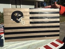 Ravens Football Flag in Beaufort, South Carolina