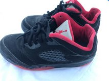 Jordan Retro 5 - Size 1.5Y -Black and Red in Okinawa, Japan