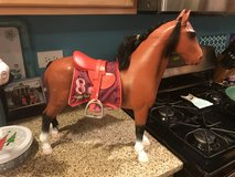 Reduced:  20 inch Our Generation by Battat Brown Doll Horse in Naperville, Illinois