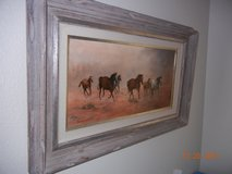 Galloping Horses!  Original Oil Painting by Idaho Artist! in Alamogordo, New Mexico