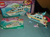 Lego Friends Dolphin Cruiser (41015) - COMPLETE with Box & Manuals in Orland Park, Illinois