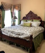 King size bed in Tomball, Texas